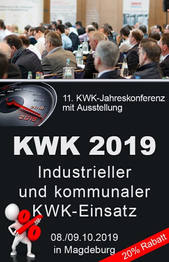 Schon mehr als 80 Anmeldungen für KWK-Jahreskongress